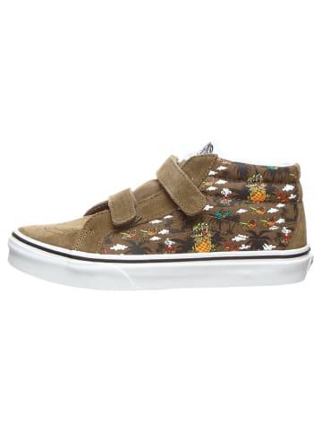"""Vans Sneakersy """"Sk8-Mid Reissue V"""" w kolorze khaki"""