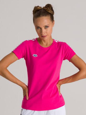 """Arena Koszulka sportowa """"Team"""" w kolorze różowym"""