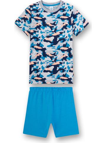 Sanetta Pyjama blauw/meerkleurig