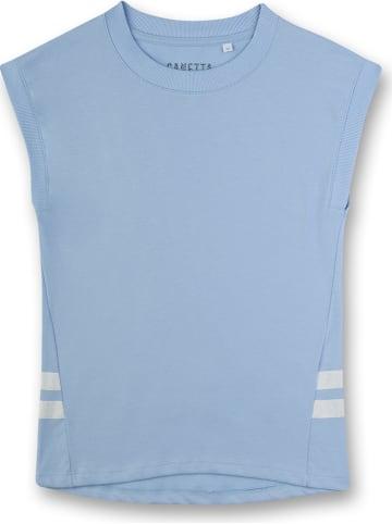 Sanetta Koszulka w kolorze błękitnym