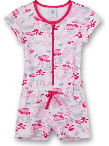 Sanetta Kombinezon w kolorze różowym ze wzorem