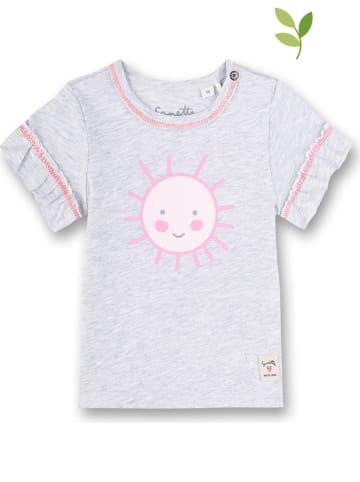 Sanetta Shirt grijs/lichtroze