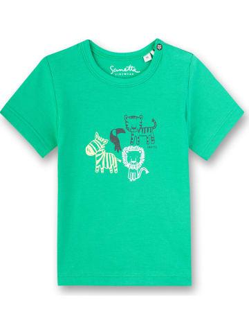 Sanetta Kidswear Shirt in Grün