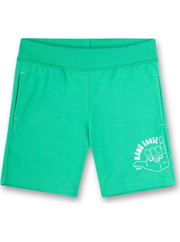 Sanetta Szorty dresowe w kolorze zielonym