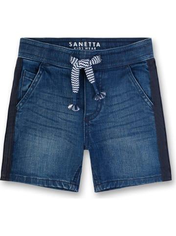 Sanetta Kidswear Szorty dżinsowe w kolorze niebieskim