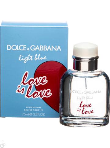 Dolce & Gabbana Light Blue Love Is Love - eau de toilette, 75 ml