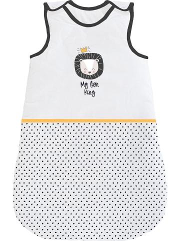 Naf Naf Babyschlafsack in Weiß/ Schwarz