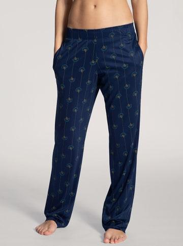 Calida Spodnie piżamowe w kolorze granatowym