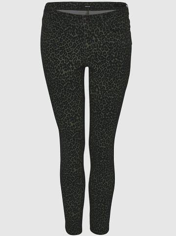 "OPUS Jeans ""Elma"" - Slim fit - in Schwarz/ Grün"