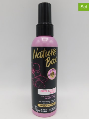 "NATURE BOX 3-delige set: haarsprays ""Insta Lift-Up Amandel-olie"", elk 150 ml"