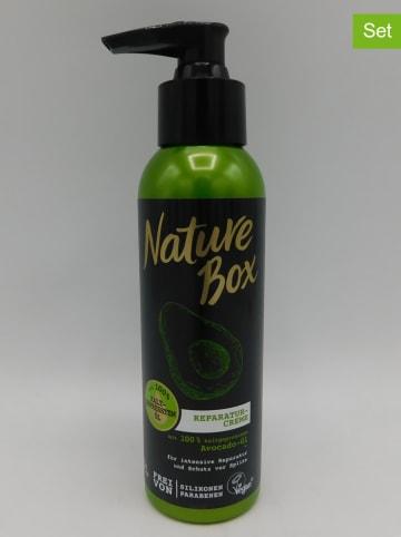 "NATURE BOX 3-delige set: hairrepair crèmes ""Avocado-olie"", elk 150 ml"