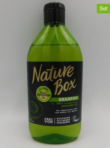"""NATURE BOX 3er-Set: Shampoos """"Avocado-Öl"""", je 385 ml"""