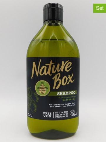 "NATURE BOX 3er-Set: Shampoos ""Oliven-Öl"", je 385 ml"
