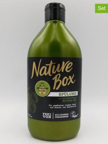 """NATURE BOX 3er-Set: Haarspülungen """"Oliven-Öl"""", je 385 ml"""