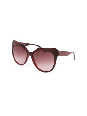 Karl Lagerfeld Damen-Sonnenbrille in Bordeaux