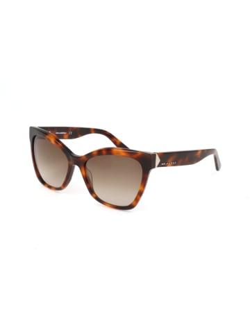 Karl Lagerfeld Dameszonnebril bruin/lichtbruin