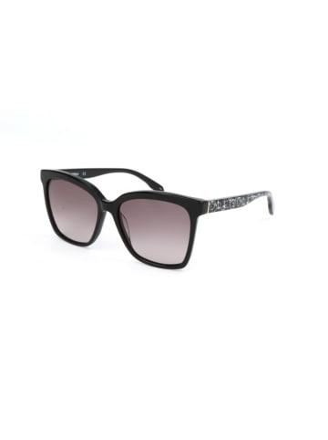 Karl Lagerfeld Damen-Sonnenbrille in Schwarz/ Hellbraun