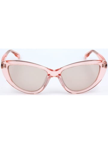 Karl Lagerfeld Damen-Sonnenbrille in Rosa/ Hellgrau