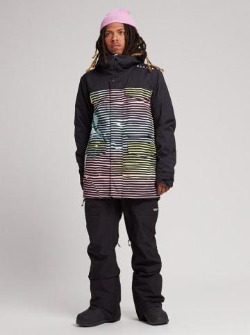 """Burton Kurtka narciarska """"Covert"""" w kolorze czarnym ze wzorem"""