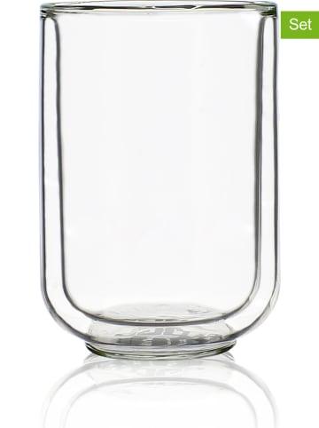 Ogo Living 4er-Set: Isoliergläser - 350 ml