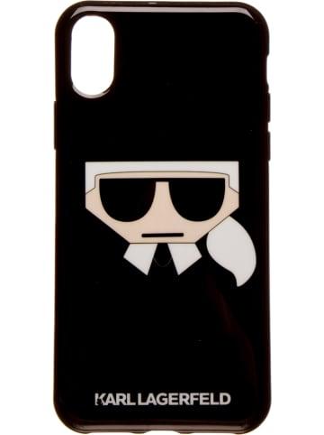 """Karl Lagerfeld Case """"K/Kocktail Karl Head X"""" w kolorze czarnym"""