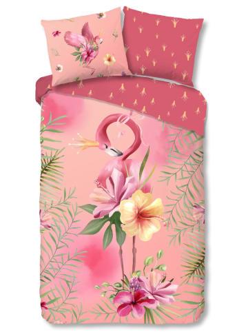 Good Morning Komplet pościeli w kolorze różowym