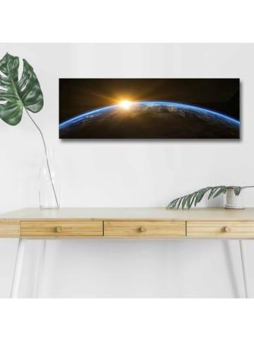 ABERTO DESIGN LED-Leinwanddruck - (B)90 x (H)30 cm