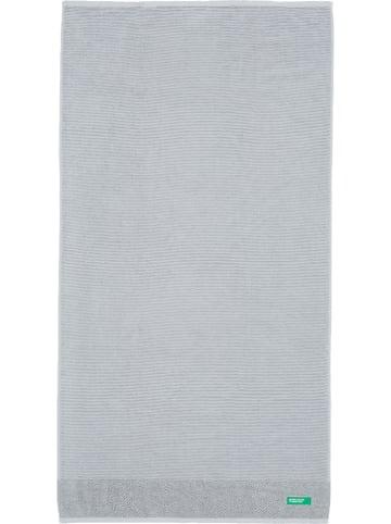 Benetton Badhanddoek grijs - (L)140 x (B)70 cm
