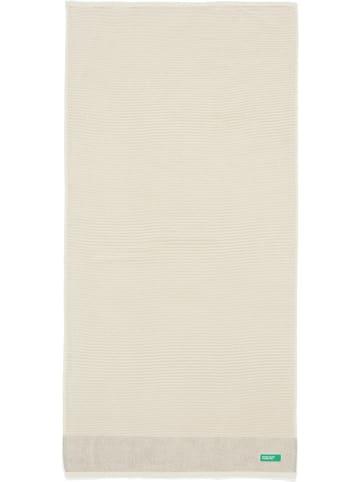 United Colors of Benetton Ręcznik kąpielowy w kolorze beżowym - 140 x 70 cm