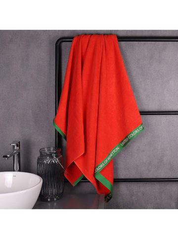 United Colors of Benetton Ręcznik plażowy w kolorze czerwonym - 160 x 90 cm