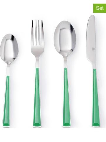 Benetton 24-delige bestekset groen
