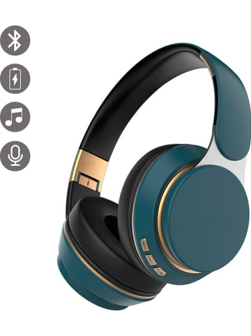 Evetane Bluetooth-On-Ear-Kopfhörer in Petrol