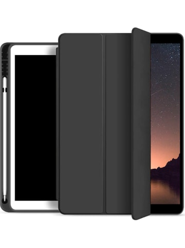 Evetane Flipcase voor iPads tot 11 inch zwart