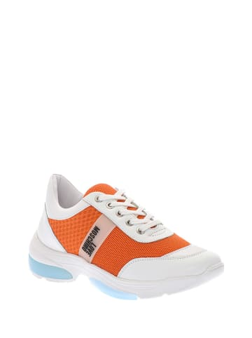 Love Moschino Sneakers oranje/wit