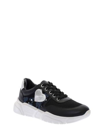 Love Moschino Sneakers zwart/zilverkleurig