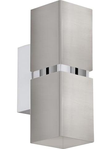 """EGLO Wandleuchte """"Passa"""" in Silber - (B)5,5 x (H)17 cm"""