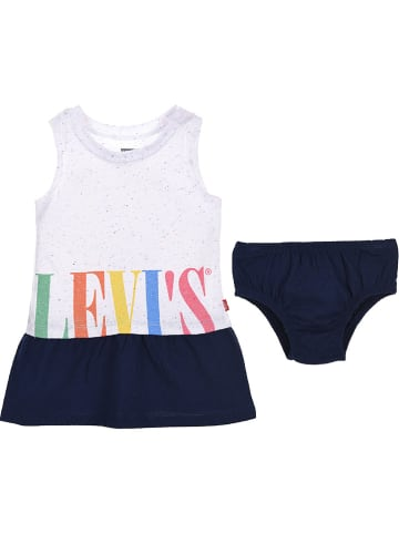 Levi's Kids 2-delige outfit wit
