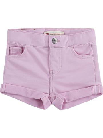 Levi's Kids Szorty dżinsowe w kolorze jasnoróżowym