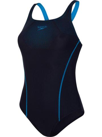 Speedo Badpak donkerblauw/blauw