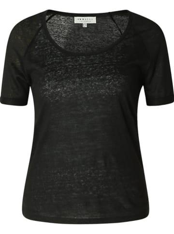 """IVY BEAU Linnen shirt """"Emmelie"""" zwart"""