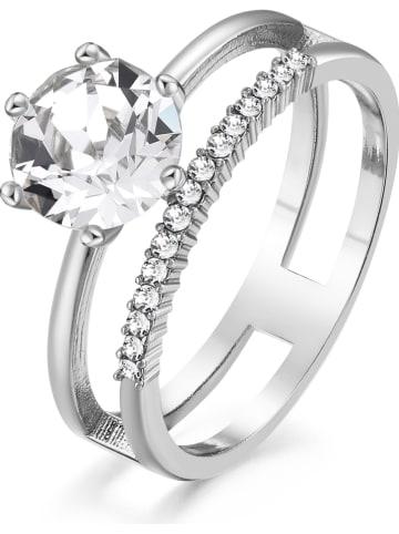 METROPOLITAN Ring mit Swarovski Kristallen