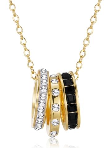 Park Avenue Pozłacany naszyjnik z kryształami Swarovski - dł. 42 cm