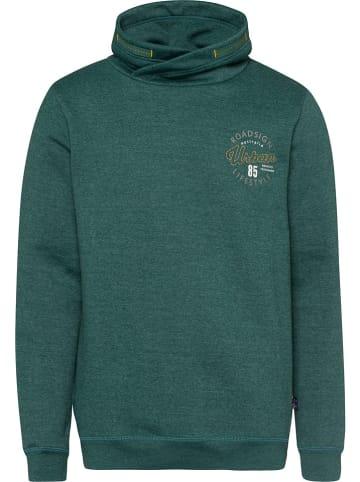 Roadsign Sweatshirt in Grün