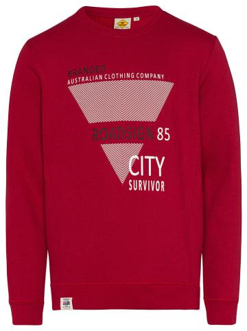Roadsign Bluza w kolorze czerwonym