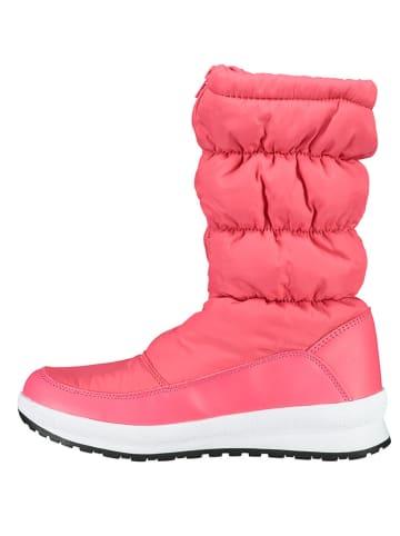 """CMP Kozaki zimowe """"Hoty"""" w kolorze różowym"""