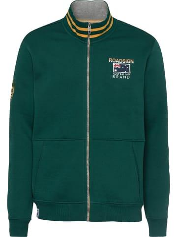 Roadsign Bluza w kolorze zielonym