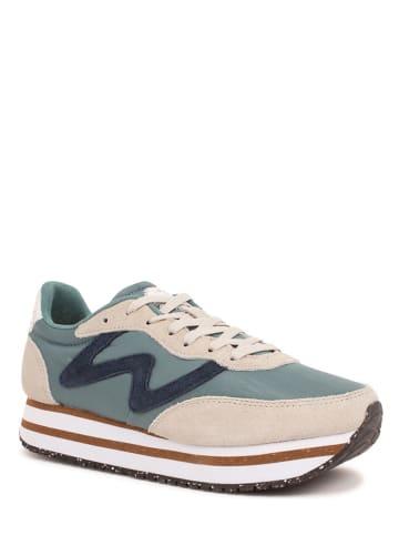 "WODEN Sneakers ""Olivia Plateau II"" turquoise/crème"
