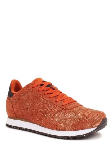 "WODEN Leren sneakers ""Ydun Pearl II"" rood"