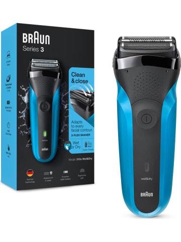 """Braun Elektrisch scheerapparaat """"Braun Series 3 - 310s"""" zwart/blauw"""