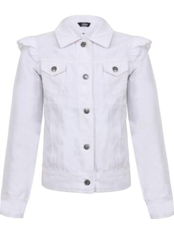 Little Miss Juliette Kurtka dżinsowa w kolorze białym